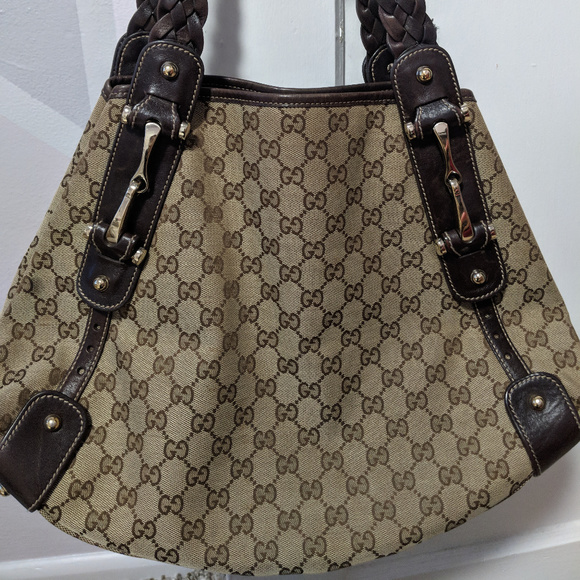 0b13f7f60069 Gucci Bags | Authentic Pelham Brown Gg Canvas Handbag | Poshmark